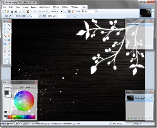Paint.Net Image Editor