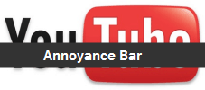 How To Remove The Youtube annoying bar
