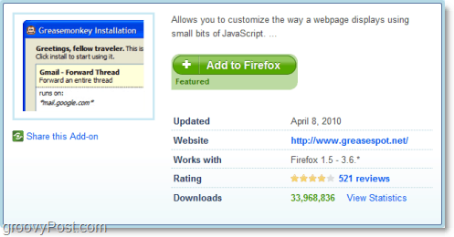 install greasemonkey for firefox
