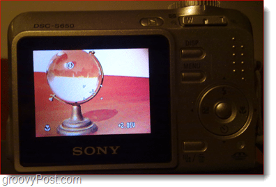 digital camera lcd display