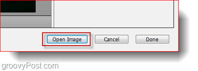 open image in adobe bridge