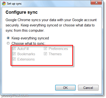google chrome can now sync extensions and autofill