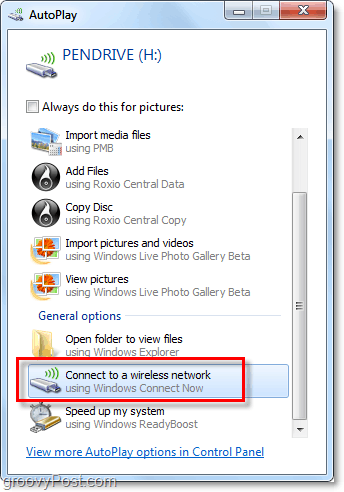 use autoplay to connect to the saved network