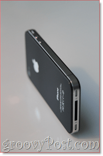 iPhone 4 - Side : groovyPost.com
