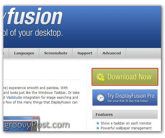 Screenshot - Download fusion