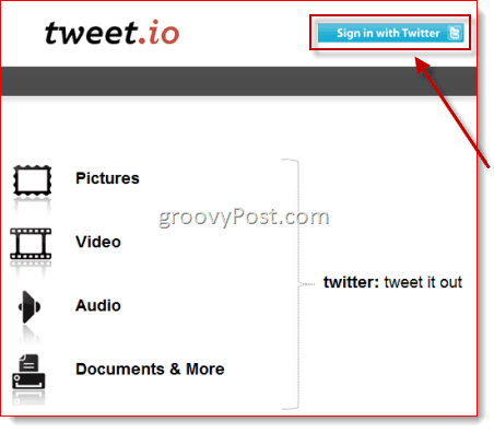Tweet.io Twitter File Sharing Review