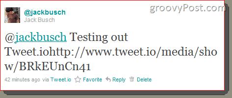 Tweet.io Twitter File Sharing Review