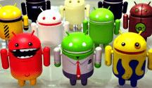 Run default android UI (user interface