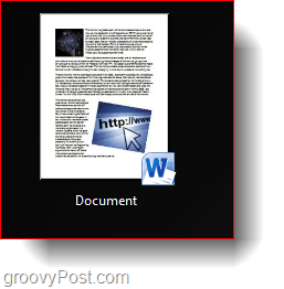 word 2010 saved thumbnail