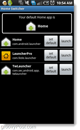 home switcher android app
