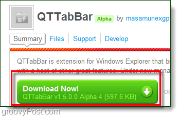 Add Tabbed Browsing to Windows Explorer in Windows 7 with QT TabBar