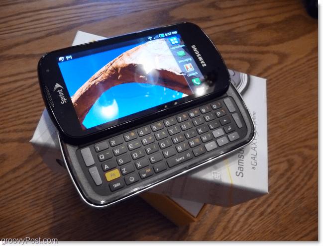samsung galaxy slide out keyboard