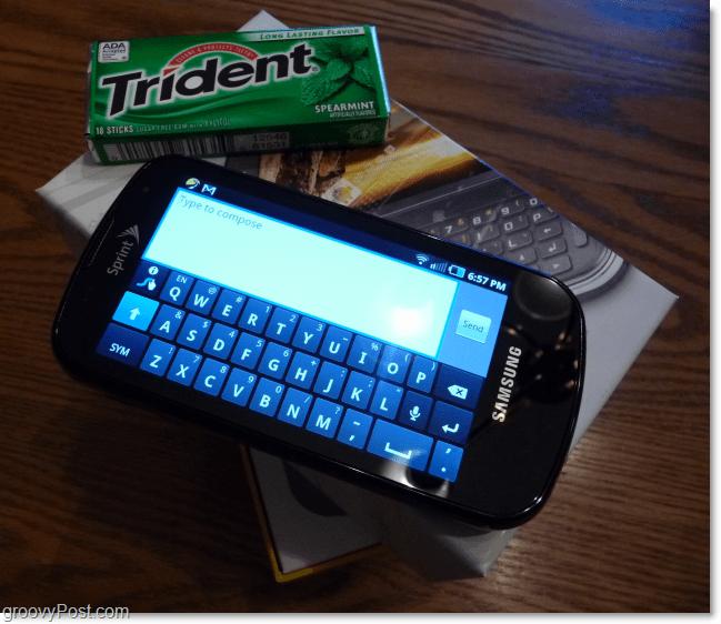 samsung galaxy swype keyboard