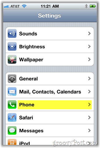 iphone phone screen