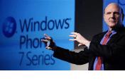 Steve Ballmer presents Windows Phone 7