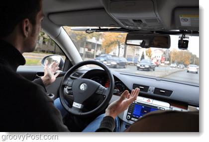 drive hands free, google car