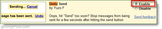 undo send gmail labs