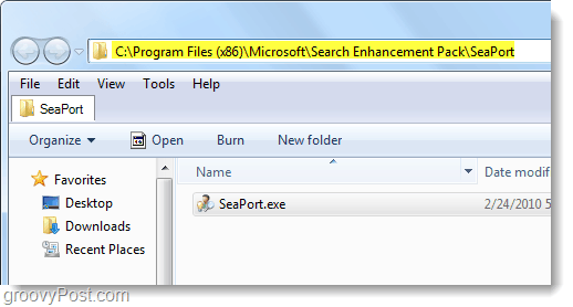seaport.exe file location