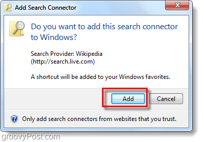 install federated search connector