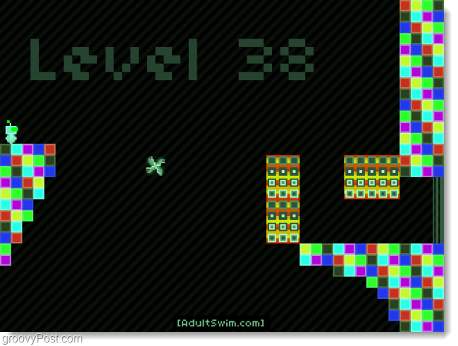 give up robot level 38
