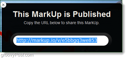 markup.io published url