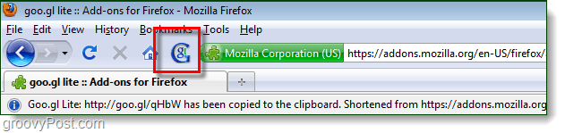 goo.gl firefox add-on