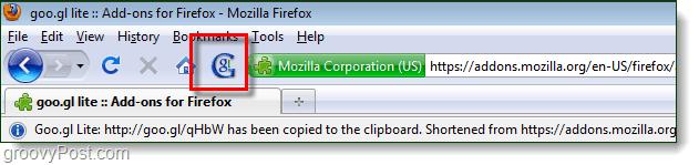 goo.gl firefox add-on