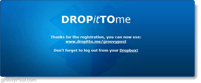 share dropbox upload url