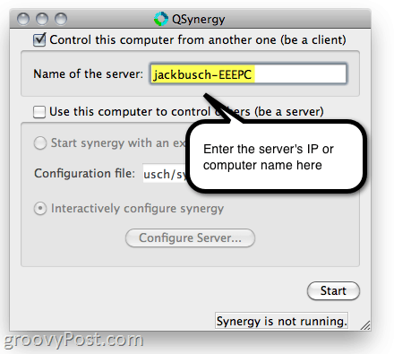 Synergy for Mac/PC/Linux - Share Your Keyboard and Mouse