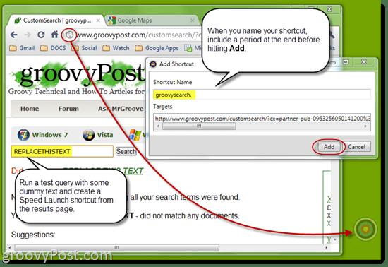 create custom functions speed launch