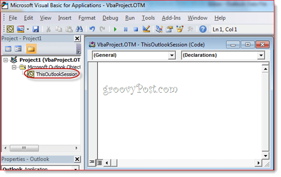 Auto BCC with Outlook 2010