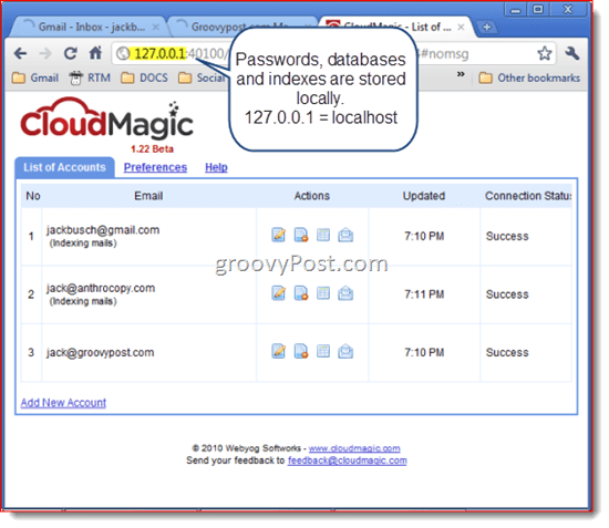 CloudMagic: Instant Gmail Search