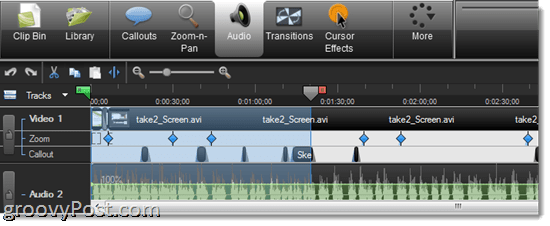 Camtasia 7.1 Review: Timeline