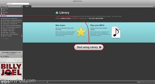 add spotify library