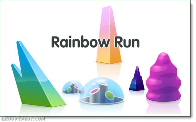 glitch rainbow run quest