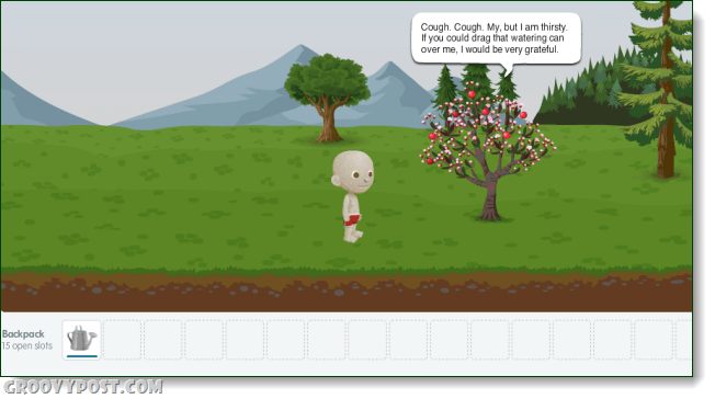glitch care for a tree