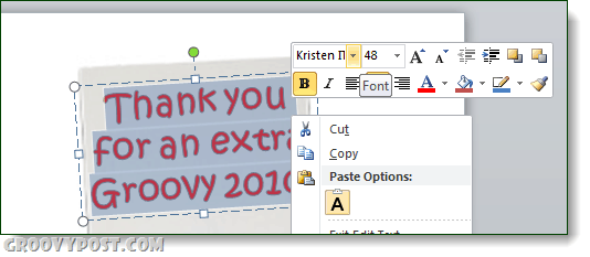 powerpoint e-card cut n paste