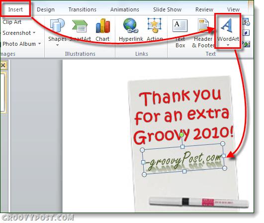 groovypost.com powerpoint ecard