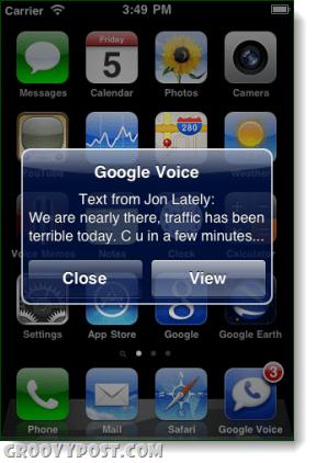 google voice push