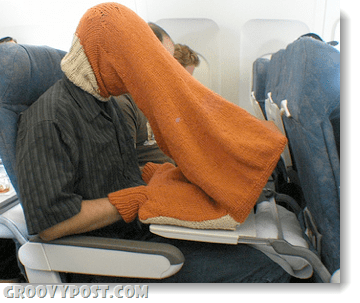 airplane laptop security