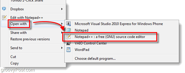customize open with list in windows 7