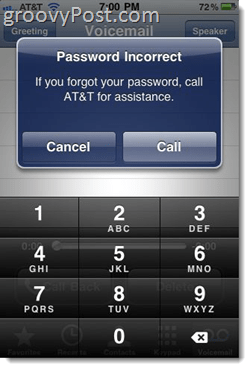 reset voicemail password iphone how to fix iphone error message password incorrect enter 7102