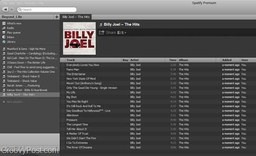 spotify billy joel