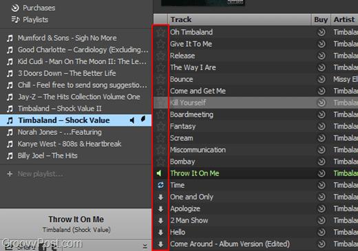 star spotify tracks