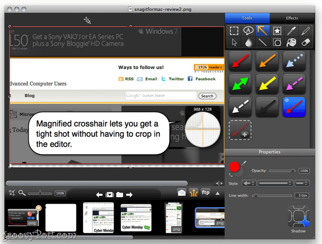 Snagit Editor for Mac