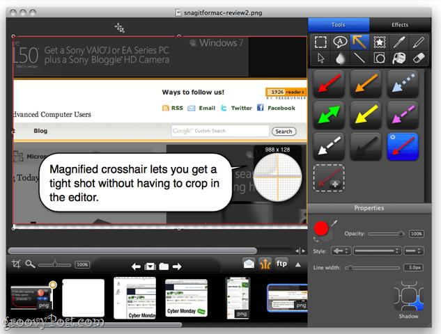 Snagit Editor for Mac