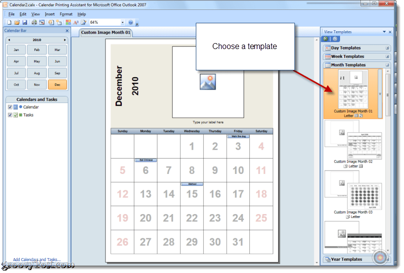 How to print overlain calendars in outlook with calendar for Outlook calendar printing assistant templates