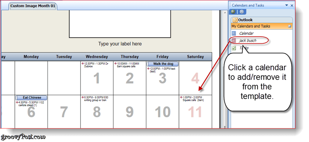 how to add a calendar in outlook 2010