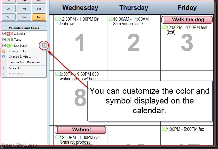 Customizing Outlook 2010 Calendar Printoffs