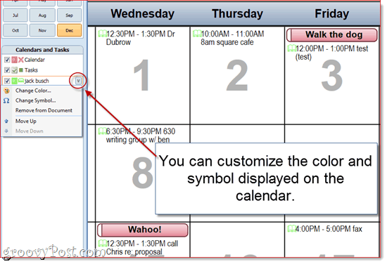 Customizing Outlook 2010 Calendar Printoffs